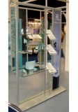 Kiosk en aluminium Poster Stand avec Graphic