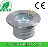 ステンレス鋼6W LED地下ライトか地下ランプ(JP82532)