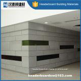 Panneau coloré renforcé décoratif de ciment de fibre de panneau de mur