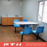 Camera prefabbricata personalizzata del contenitore per il progetto la cucina o il corridoio pranzante