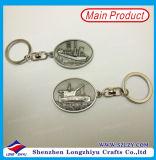 Servi Keychain con l'imballaggio della casella di marchio dell'automobile