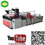 Máquina semi automática del papel higiénico el rebobinar, precio de la máquina del papel higiénico
