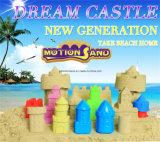 Position de luxe - le sable cinétique réglé de jeu de sable de mouvement de sable de château badine les jouets éducatifs des jouets DIY de jouet