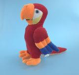 Perroquet bourré mou de jouet de peluche
