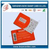 PVC印刷をする名刺の印刷業のカード