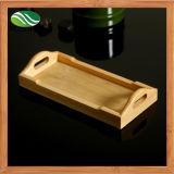 Cassetto di bambù del servizio dei sushi rettangolari giapponesi naturali