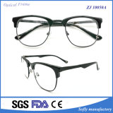 High Quality Acetate Material Optical Frame Metal Bridge를 가진 형식 Eyewear