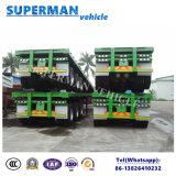 中東への三車軸40FT容器のトラックのトレーラートラック/セミトレーラー