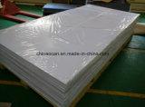 Hoch glattes weißes steifes Plastikblatt Belüftung-4*8 für Drucken