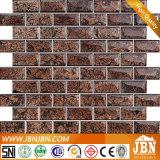 벽 (G838004)를 위한 암갈색 포일 유리제 모자이크