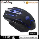 Computer-Spiel-Maus der LED-Hintergrundbeleuchtung-6D USB verdrahtete