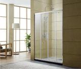 marco completo del marco del grueso de 6m m de la ducha de la puerta 6m m del grueso del marco de la puerta llena de cristal de cristal llena de la ducha que resbala la puerta de la ducha