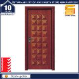Festes Furnier-Blatthölzerne Tür mit Befestigungsteilen