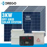 Sistema de energia solar 3kw de Morego picovolt para o uso Home