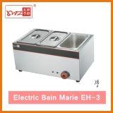電気Bain Marieの摩擦皿の台所装置
