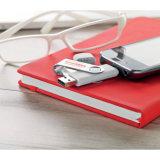 Neuer drehender USB-Stock mit kundenspezifischem Firmenzeichen