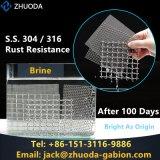Dutch, saia, rete metallica tessuta pianura dell'acciaio inossidabile 304