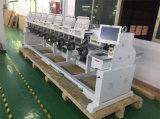 El bordado industrial trabaja a máquina precio en China para la corrección del bordado, casquillo, camiseta, plano