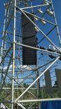 L'acier a galvanisé la ligne armature de structure d'échafaudage de haut-parleur d'alignement