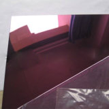 Placas de acero inoxidables Grede 304 del color del Ti