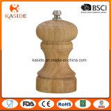 Molino de cerámica de bambú tamaño pequeño de la sal y de pimienta
