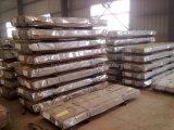 Placa de material para techos de acero galvanizada acanalada/trapezoidal de gama alta