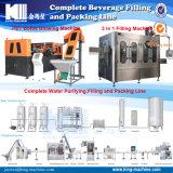 Terminar la cadena de producción carbonatada jugo automático lleno de la máquina de rellenar del refresco del agua