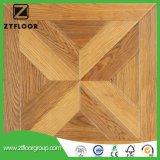 V suelo de mármol impermeable de madera laminado del azulejo de suelo del surco HDF