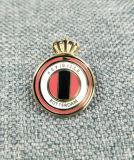 Insigne mol en laiton fait sur commande de Pin de logo d'émail