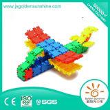 Brinquedo educacional plástico do tijolo de Buliding do brinquedo das crianças com certificado de Ce/ISO
