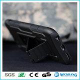 Caja a prueba de choques híbrida de la pistolera del clip de la correa de la armadura para el iPhone 7 más