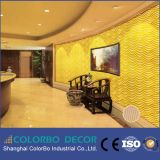 panneaux de mur de l'onde 3D pour le panneau décoratif intérieur