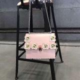 Beste verkaufenblume-c$motived Frauen-Handtasche fertigen Dame-Schulter-Beutel mit Kette Sh161 kundenspezifisch an