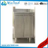 Dispersore in pieno arrotondato commerciale del basamento della cucina dell'acciaio inossidabile con Backsplash