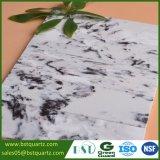 Pietra in bianco e nero artificiale del quarzo di alta durezza per il controsoffitto