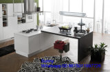 Mobília acrílica de madeira nova da cozinha do MDF de 2017 Foshan Zhihua