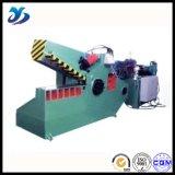 Cisaillement hydraulique de production de crocodile élevé de rendement pour la pipe en métal de découpage