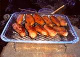 Gril sans fumée instantané remplaçable 2017 de charbon de bois de catégorie comestible de gril de barbecue neuf