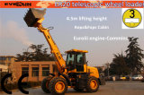 Er2000 CER Telescopic Arm Loader mit Wooden Forks