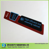 panneau décoratif en verre Tempered de sûreté de 5mm pour l'appareil ménager