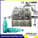 Embotellado carbónico automático de la cerveza y máquina que capsula