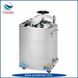 Esterilizador de vapor de presión médica vertical de acero inoxidable
