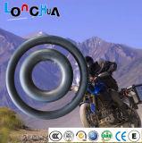 Câmara de ar interna da motocicleta butílica brandamente natural da sensação da mão com PONTO (5.00-12)