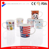 Pequeño Children Cartoon Ceramic Mug con Design