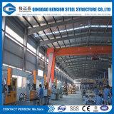 Almacén Pre-Dirigido con la estructura de acero