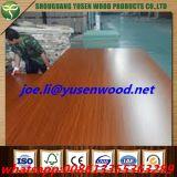높은 광택 목제 곡물 UV 입히는 MDF 널 /Wood 곡물 멜라민 Parper는 박판으로 만들었다