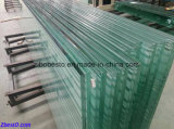 Лестницы строя усиленное укрепленное стекло поручня
