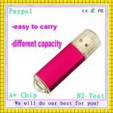 Disco de destello del USB del plástico de la capacidad plena (GC-P417)