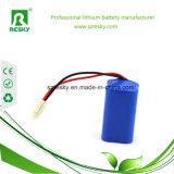 7.4V 6600mAhのLEDの自転車ライトのための再充電可能なリチウム電池