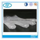 Los guantes claros plásticos del PE venden al por mayor